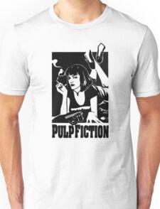 -TARANTINO- Pulp Fiction Cover Unisex T-Shirt