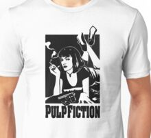 -TARANTINO- Pulp Fiction Cover Unisex T-Shirt
