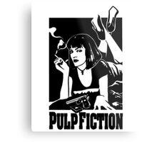 -TARANTINO- Pulp Fiction Cover Metal Print