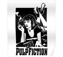 -TARANTINO- Pulp Fiction Cover Poster