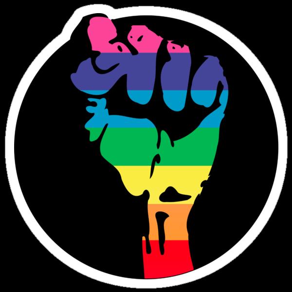 pride fist by chromatosis