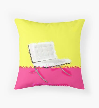 Barcelona Chair Throw Pillow