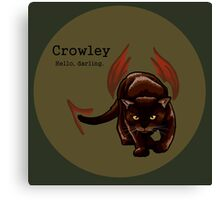 Crowley - Cat King of the Crossroads Canvas Print