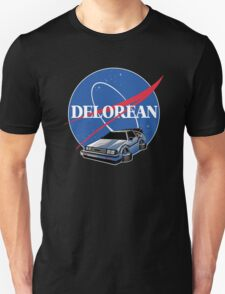 -MOVIES- Back To The Future Nasa Style Unisex T-Shirt