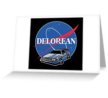 -MOVIES- Back To The Future Nasa Style Greeting Card