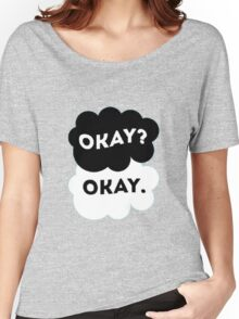 """TFIOS - Maybe """"Okay"""" will be our """"always"""". Women's Relaxed Fit T-Shirt"""