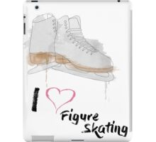 I heart Figure Skating Skates iPad Case/Skin