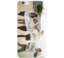 Grouplove Never Trust A Happy Song iPhone Case/Skin
