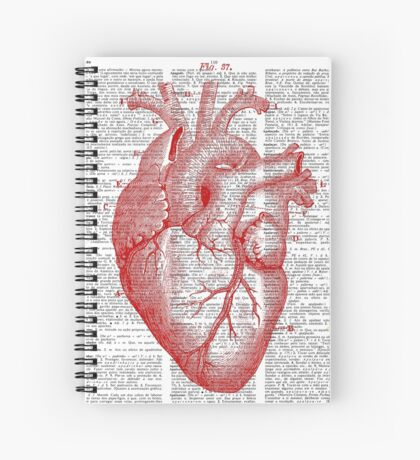 Passionate Heart Spiral Notebook