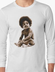 -MUSIC- Notorious Big Baby's Cover Long Sleeve T-Shirt