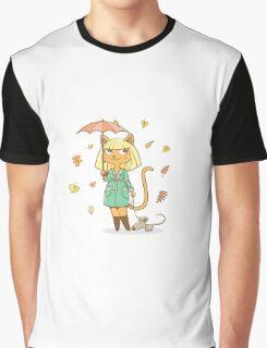 Autumn cat. Graphic T-Shirt