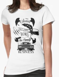 The Family Business Womens Fitted T-Shirt