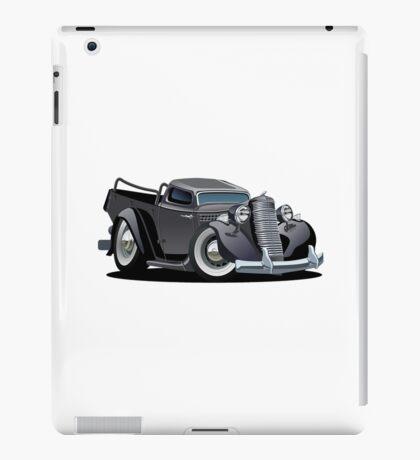 Cartoon retro pickup iPad Case/Skin