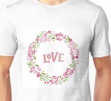 Wreath Of Love Unisex T-Shirt