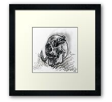 Deep sea skeletons. Framed Print