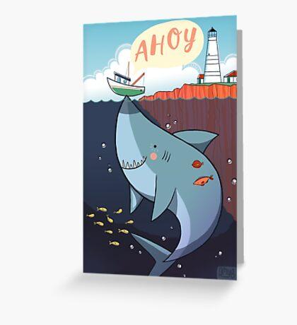 Ahoy! Greeting Card
