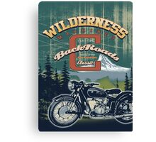 wilderness road Canvas Print