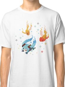 Hatsune Miku Swimming with Fishes Classic T-Shirt