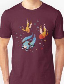Hatsune Miku Swimming with Fishes Unisex T-Shirt