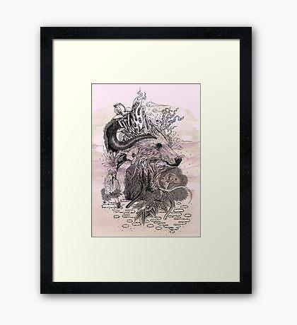 Forest Warden Framed Print