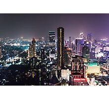 Night in Bangkok Photographic Print