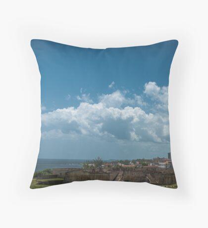 San Juan, Puerto Rico Throw Pillow