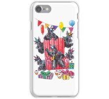 Party scotties iPhone Case/Skin