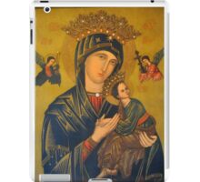 OUR MOTHER OF PERPETUAL HELP iPad Case/Skin
