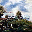 Canadian Farm by Monica Vanzant
