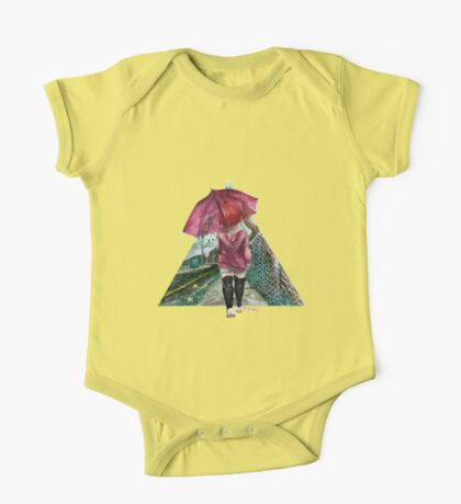 Out in the Rain One Piece - Short Sleeve