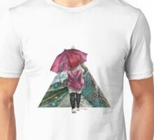 Out in the Rain Unisex T-Shirt