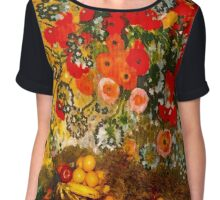 """Fruits and Flowers Mantel""© Chiffon Top"