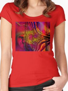 Untitled Abstract Women's Fitted Scoop T-Shirt
