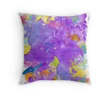 Color Resistance Throw Pillow