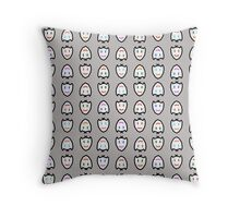 Deebeedee gris Throw Pillow