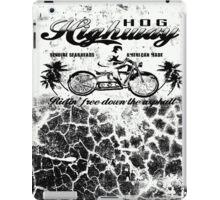 HOG HIGHWAY 2 iPad Case/Skin