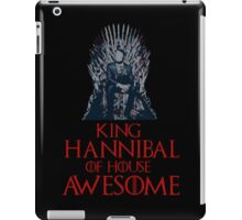 King Hannibal of House Awesome iPad Case/Skin
