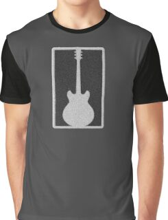Guitar in stone plate Graphic T-Shirt