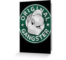 Franklin The Turtle - Starbucks Design Greeting Card