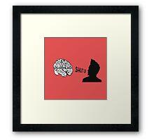 blink-182 Rabbit Hole Framed Print