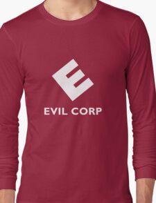 Mr. Robot Evil Corp Logo Long Sleeve T-Shirt
