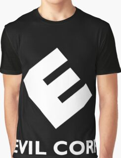 Mr. Robot Evil Corp Logo Graphic T-Shirt