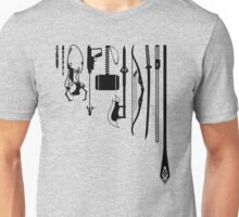 iconic weapons Unisex T-Shirt