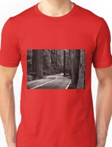 Avenue of the Giants  Unisex T-Shirt