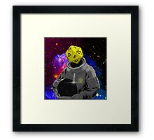 d20 Astronaut Framed Print