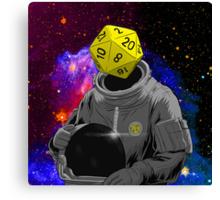 d20 Astronaut Canvas Print