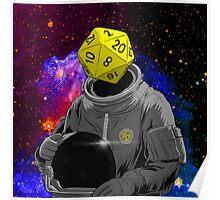d20 Astronaut Poster