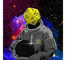 d20 Astronaut Photographic Print
