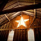 Star Barn Interior by Yvonne Roberts