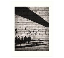 Team of Shadows | Person Of Interest Art Print